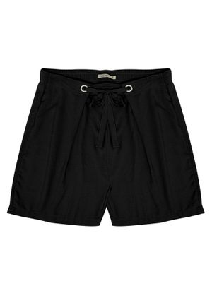 Shorts-Feminino-Plus-Size-Secret-Preto