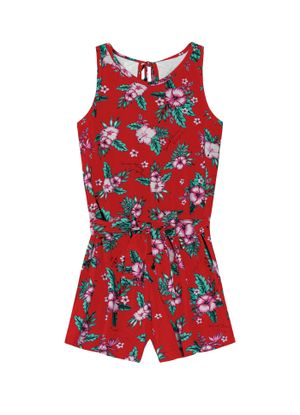 Macaquinho-Infantil-Floral-Rovitex-Kids-Vermelho