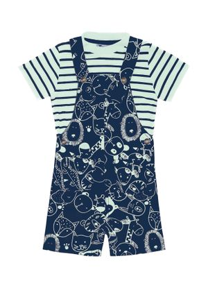 Conjunto-Camiseta-com-Jardineira-Infant-Trick-Nick-Azul