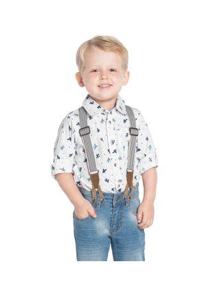 Camisa-Tricoline-Infantil-Trick-Nick-Branco