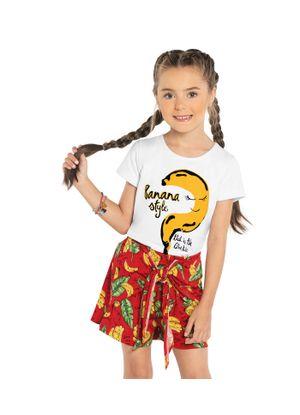 Conjunto-Infantil-Banana-Rovitex-Kids-Branco