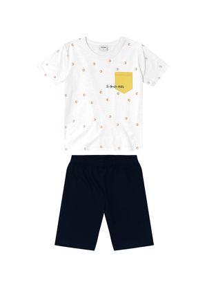 Conjunto-Infantil-Masculino-Rovitex-Kids-Branco