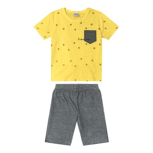 Conjunto-Infantil-Masculino-Rovitex-Kids-Amarelo