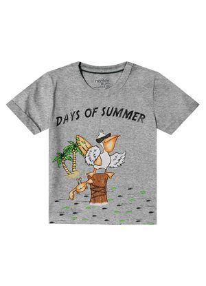 Camiseta-Infantil-Masculina-Rovitex-Kids-Cinza