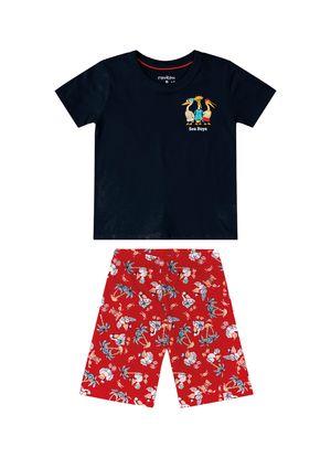 Conjunto-Infantil-Masculino-Tropical-Rovitex-Kids-Azul