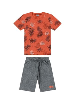 Conjunto-Infantil-Masculino-Tropical-Rovitex-Kids-Laranja