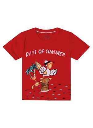 Camiseta-Infantil-Masculina-Rovitex-Kids-Vermelho