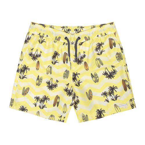 Bermuda-Infantil-Masculina-Sortida-Amarelo