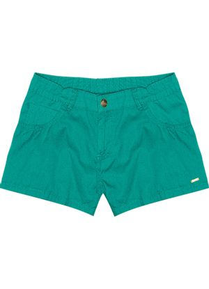 Shorts-Infantil-Feminino-Verde