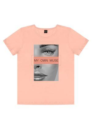 T-shirts-Feminina-Rovitex-Rosa