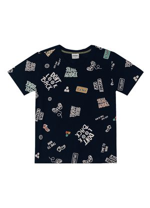 Camiseta-Infantil-Masculino-Rovitex-Kids-Azul