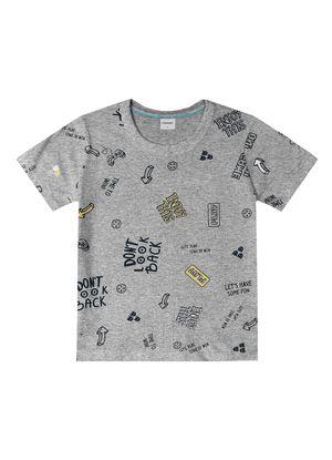 Camiseta-Infantil-Masculino-Rovitex-Kids-Cinza