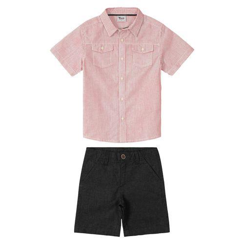 Conjunto-Infantil-Camisa-Masculina-Trick-Nick-Vermelho