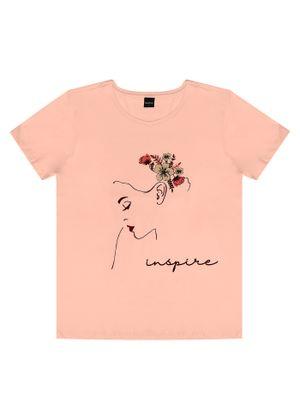 T--Shirt-Feminina-Inspire-Rovitex-Rosa