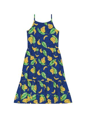 Vestido-Midi-Infantil-Estampado-Rovitex-Kids-Azul