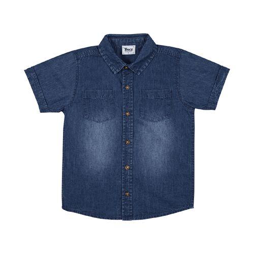 Camisa-Infantil-Masculina-Trick-NIck-Azul