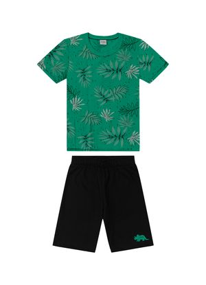 Conjunto-Infantil-Masculino-Tropical-Rovitex-Kids-Verde