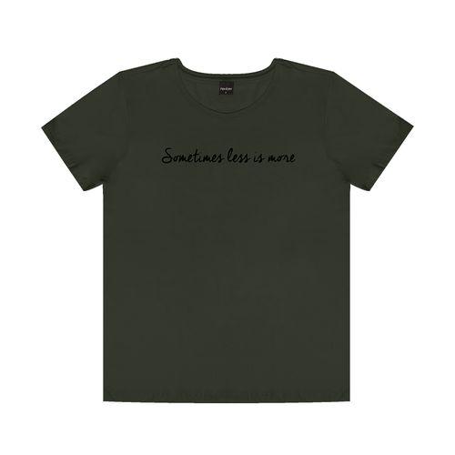 T-Shirt-Feminina-Adulto-Rovitex-Verde