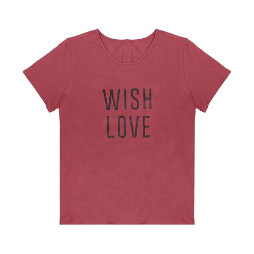 T-Shirt-Feminina-Adulto-Rovitex-Vermelho