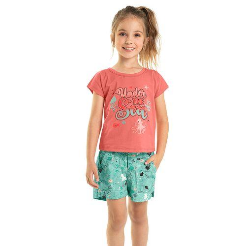 Conjunto-Blusa-com-Short-Infantil-Rovitex-Kids-Rosa