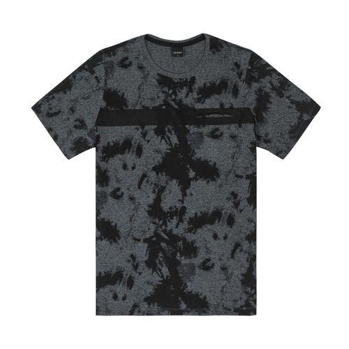Camiseta-Masculina-Estampada-Rovitex-Cinza