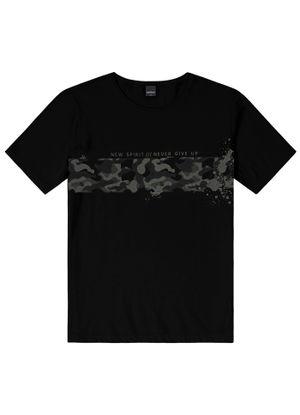 Camiseta-Masculina-Estampada-Rovitex-Preto
