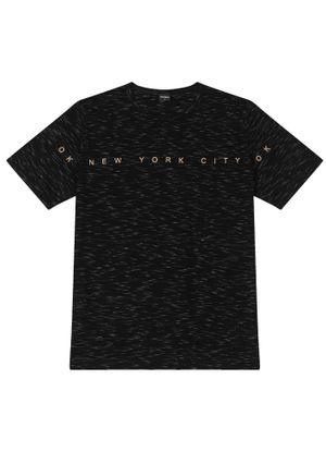 Camiseta-Masculina-New-York-Rovitex-Preto