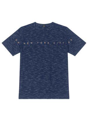 Camiseta-Masculina-New-York-Rovitex-Azul