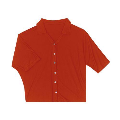 Camisa-Feminina-Manga-3-4-Rovitex-Laranja