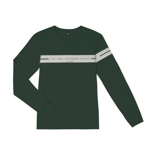 Camiseta-Masculina-Manga-Longa-Rovitex-Verde
