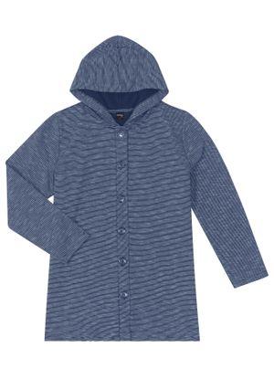 Casaco-Feminino-Moletom-Stripe-com-Capuz-Rovitex-Azul
