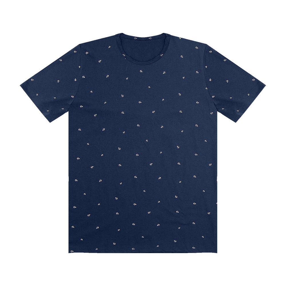 Camiseta-Masculina-Rovitex-Azul