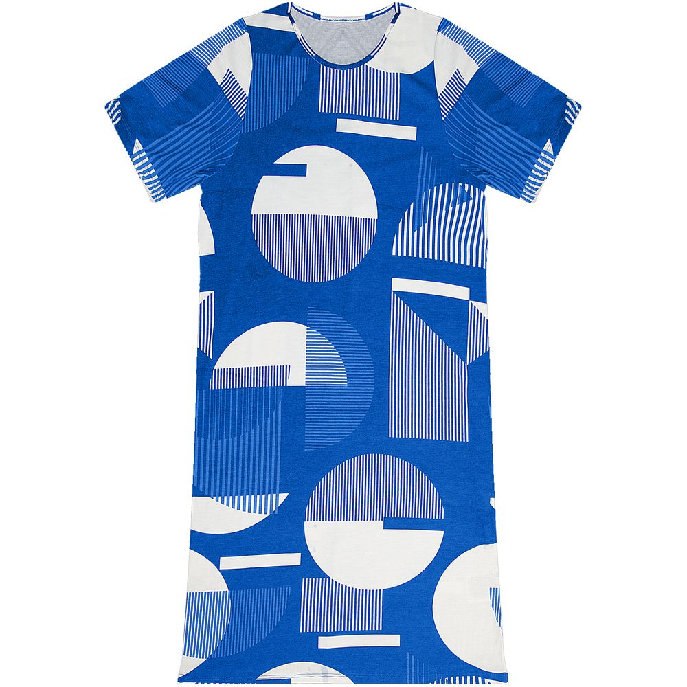 Vestido-Estampado-Rovitex-Azul
