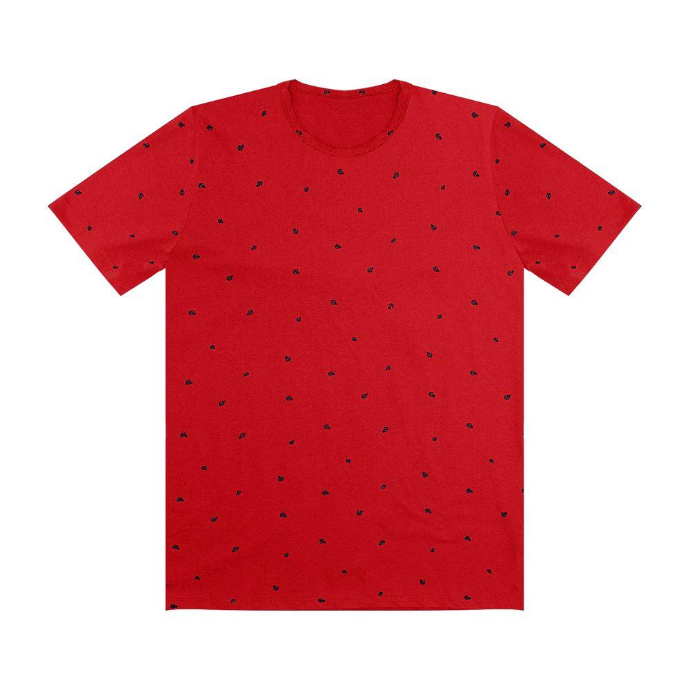 Camiseta-Masculina-Rovitex-Vermelho