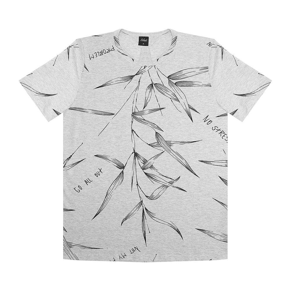 Camiseta-Masculina-Rovitex-Cinza