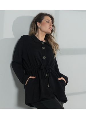 Parka-Secret-Glam-Preto