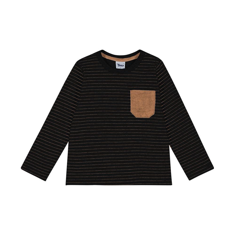 Camiseta-Infantil-Masculina-Trick-Nick-Preto