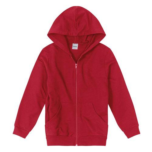 Jaqueta-Infantil-Unissex-Capuz-Rovitex-Kids-Vermelho