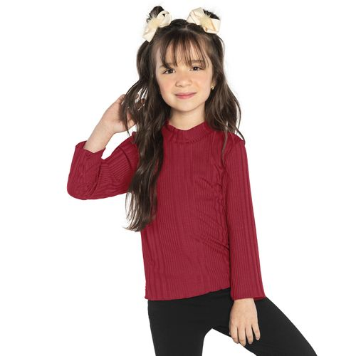 Blusa-Manga-longa-Infantil-Rovitex-Kids-Vermelho