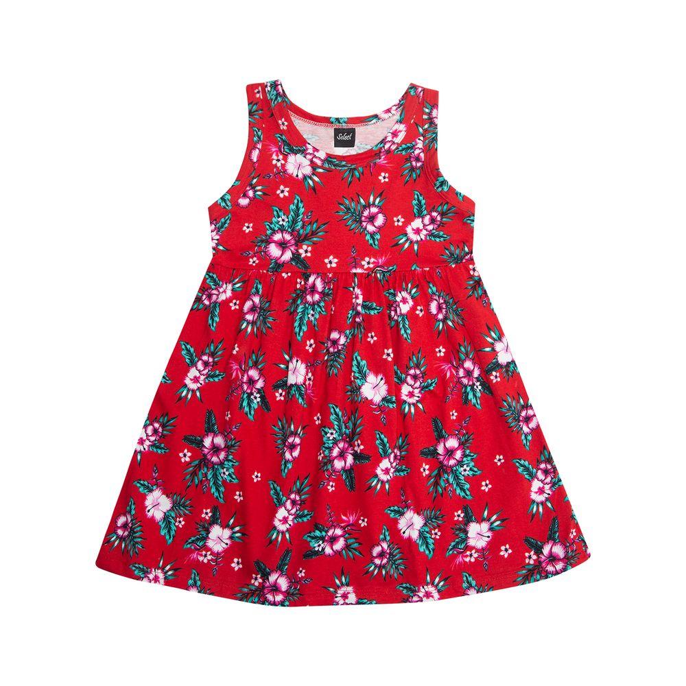 Vestido-Infantil-Rodado-Rovitex-Kids-Vermelho