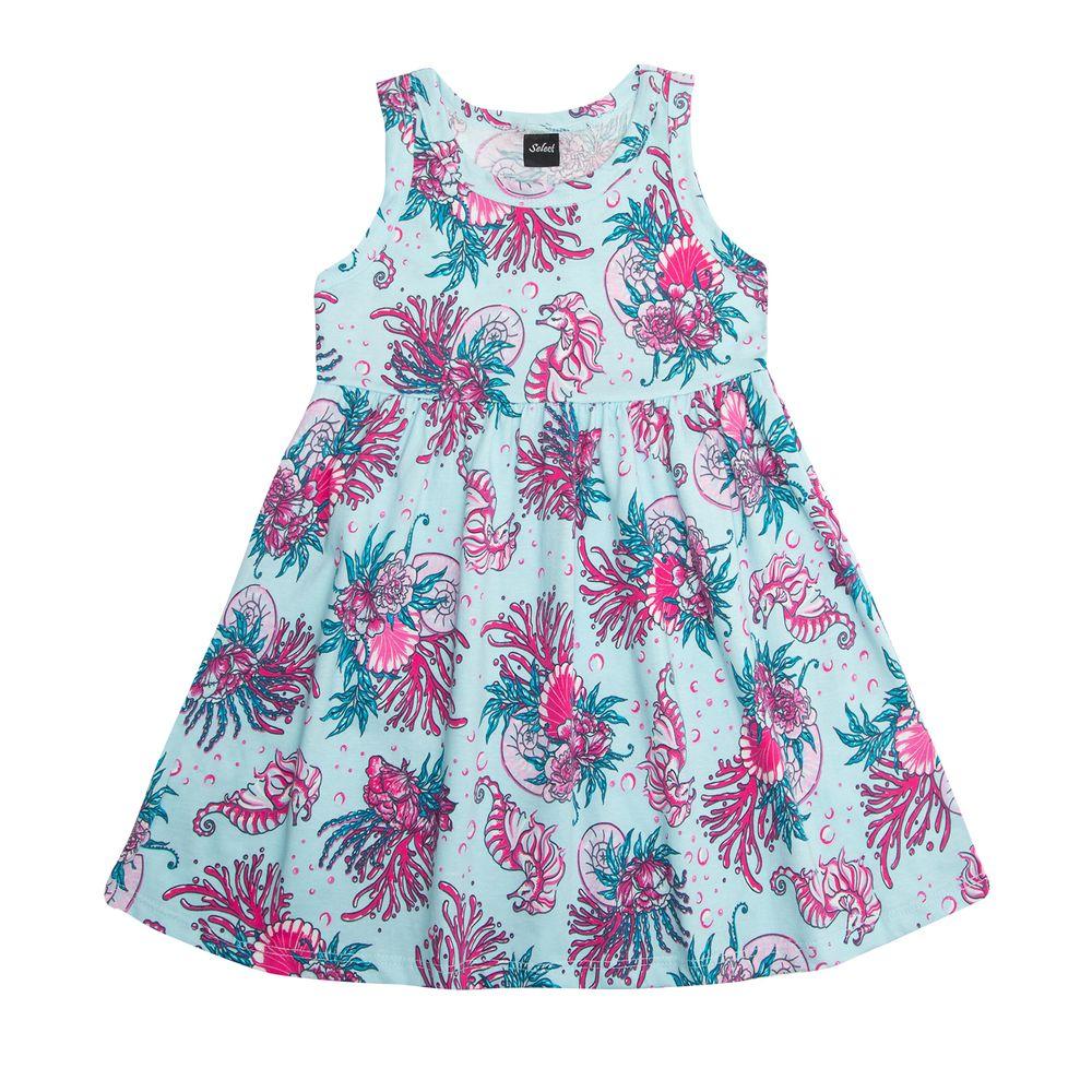 Vestido-Infantil-Rodado-Rovitex-Kids-Azul