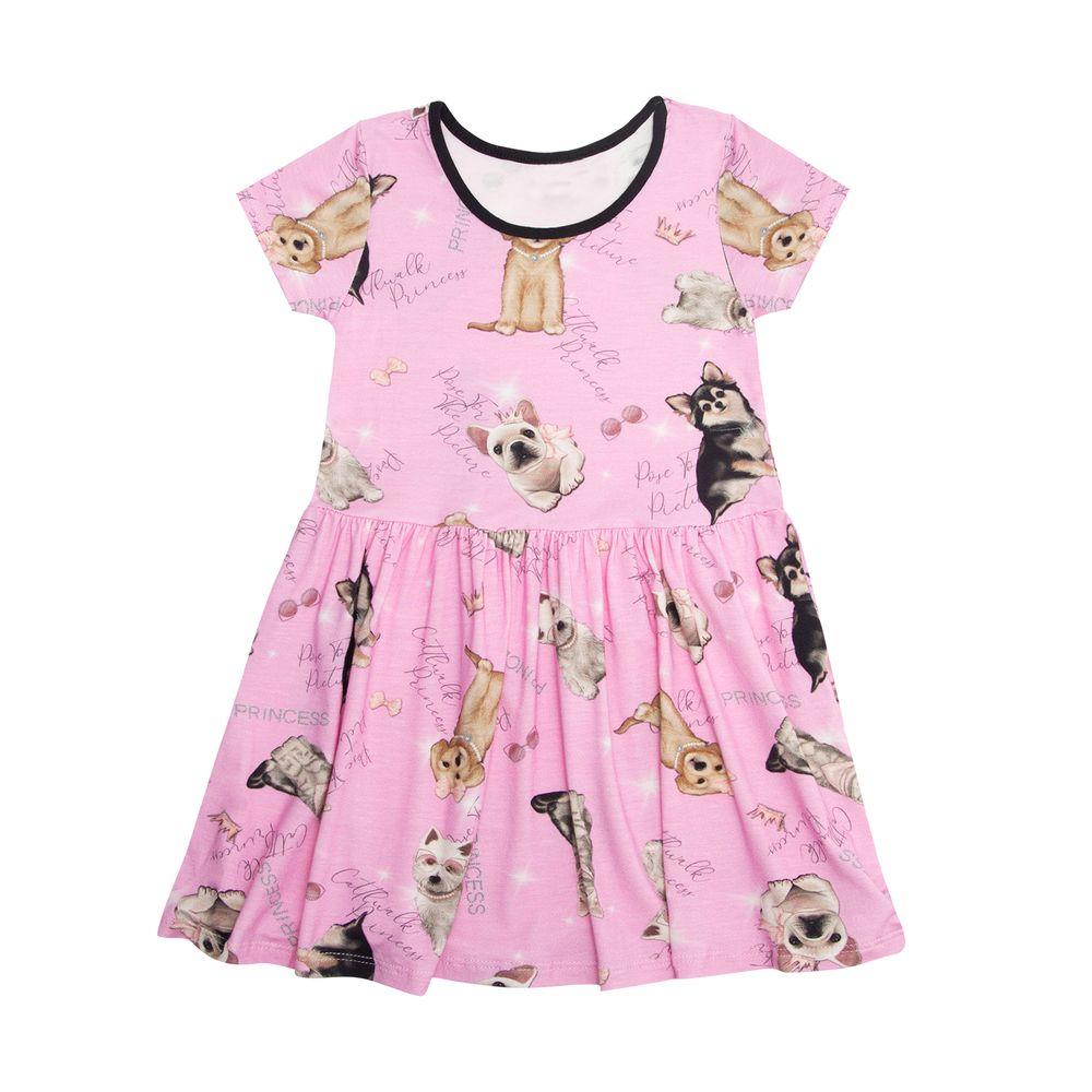 Vestido-Infantil-Estilo-Princesa-Rovitex-Kids-Rosa