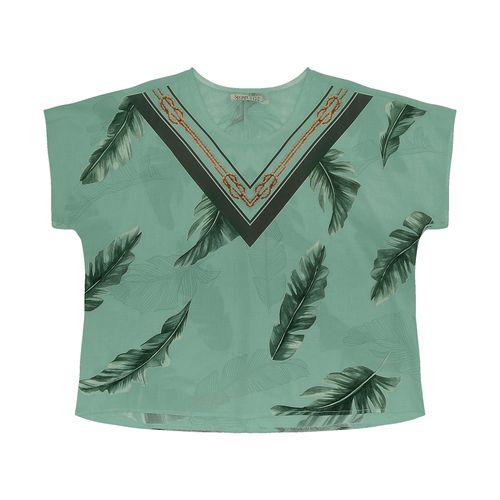 Blusa-Feminina-Plus-Size-Folhagens-Secret-Glam-Verde