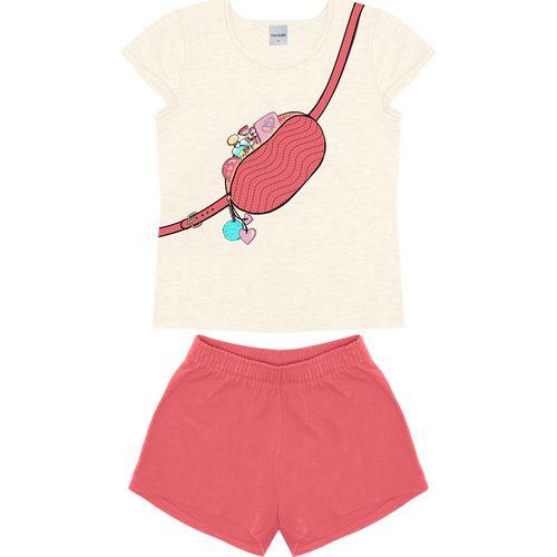 Conjunto-Blusa-Com-Shorts-Rovitex-Kids-Bege
