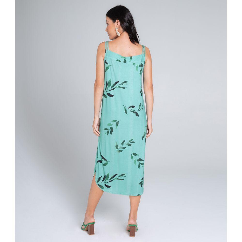 Vestido-Feminino-Midi-Endless-Verde