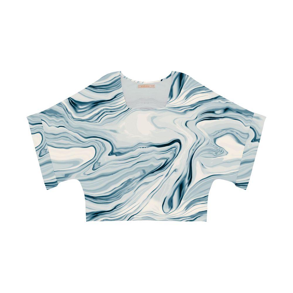 Blusa-Feminina-Estampada-Endless-Azul