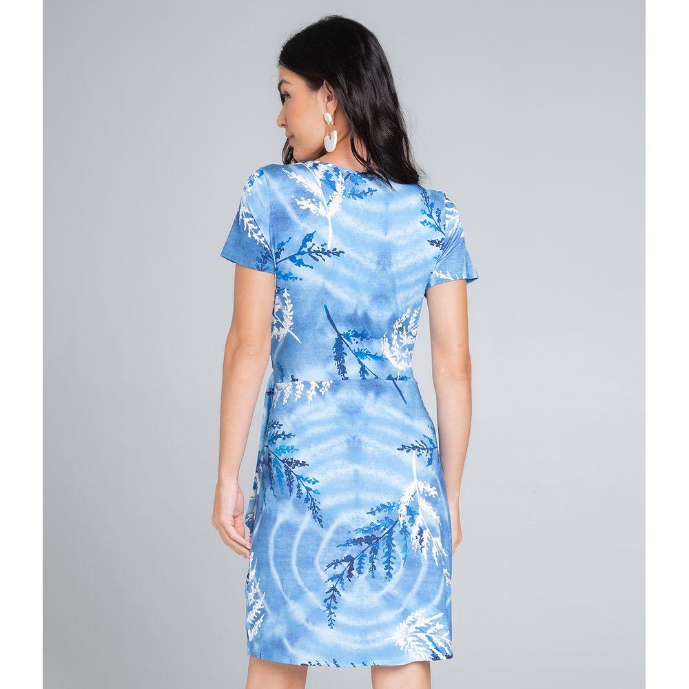 Vestido-Feminino-Estampado-Endless-Azul
