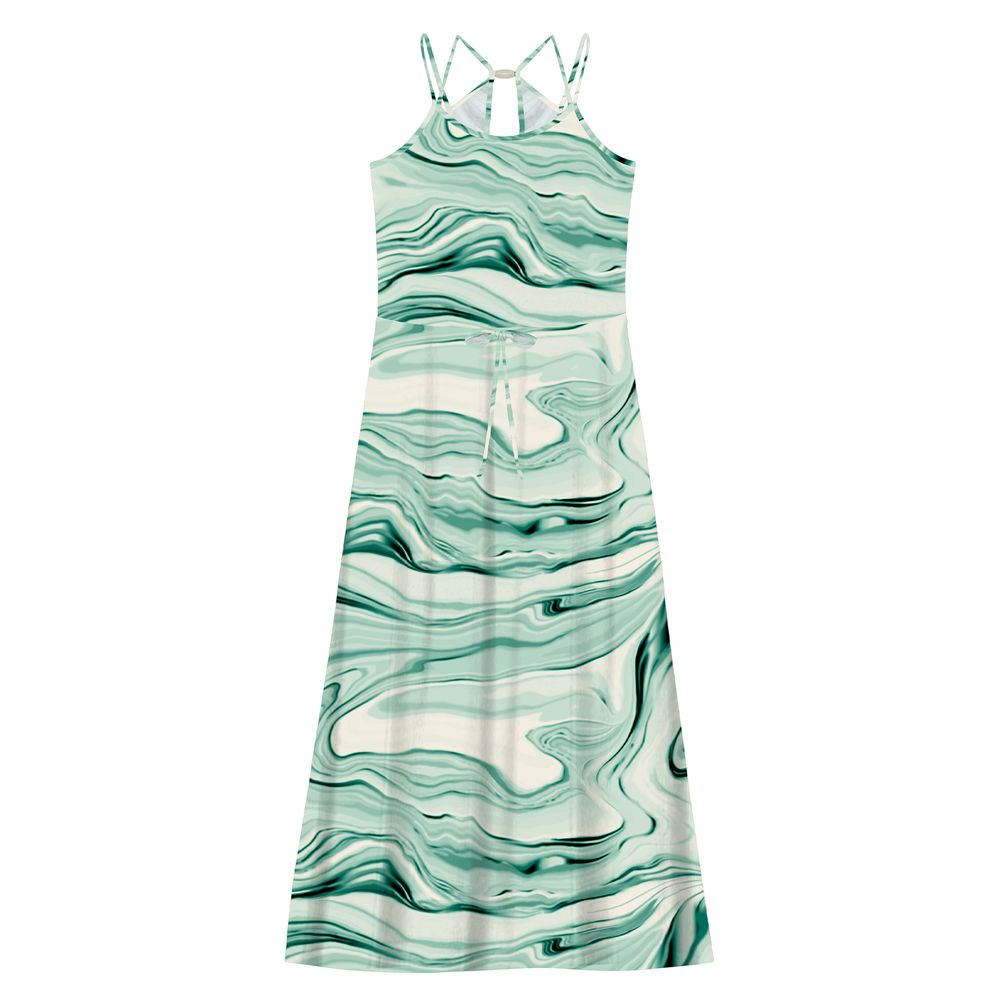 Vestido-Feminino-Longo-Estampado-Edless-Verde