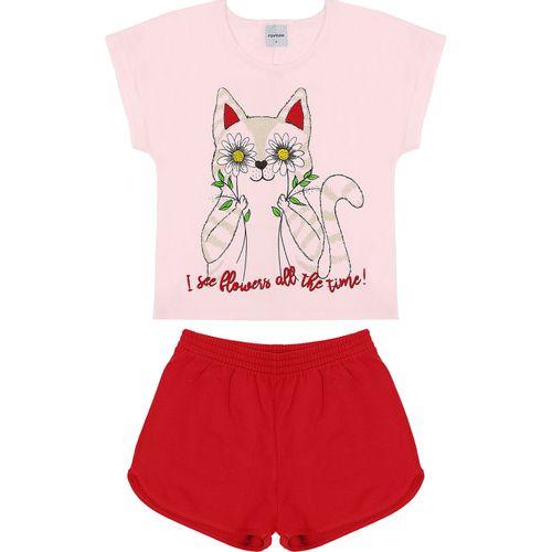 Conjunto-Blusa-Com-Shorts-Rovitex-Kids-Rosa