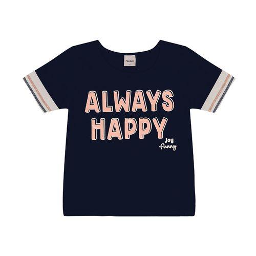 Blusa-Infantil-Always-Happy-Rovitex-Kids-Azul